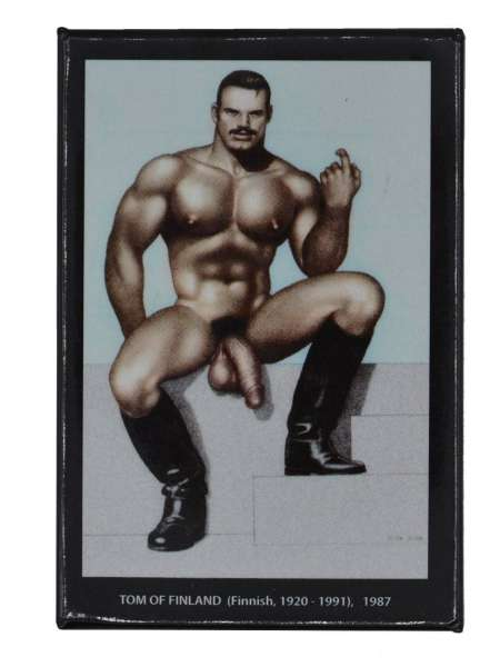 Tom of Finland Magnet Come Get It