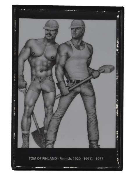 Tom of Finland Magnet Construction Duo