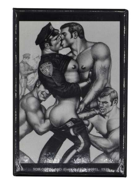 Tom of Finland Magnet Fisting
