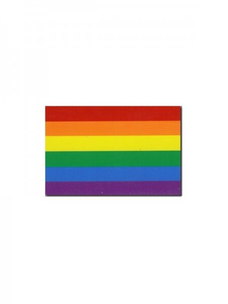Rainbow Magnet Gay Pride flexible 4,5 x 7 cm (12er Pack)
