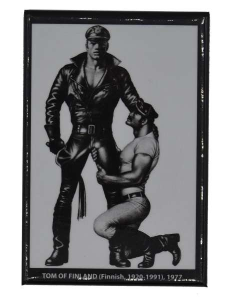 Tom of Finland Magnet Leather Master 2