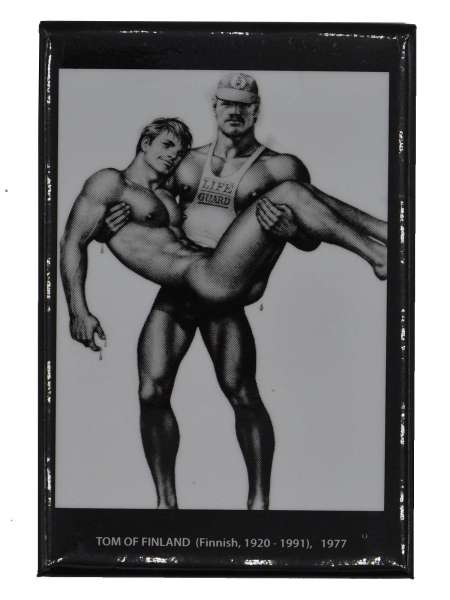 Tom of Finland Magnet Lifeguard